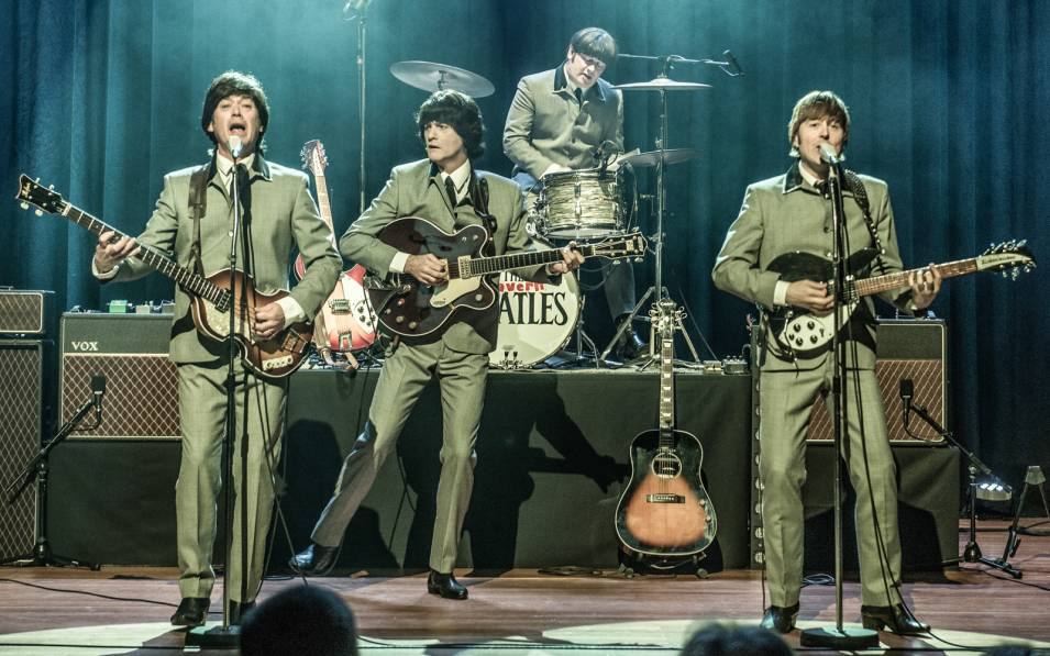 Cavern Beatles in performance.