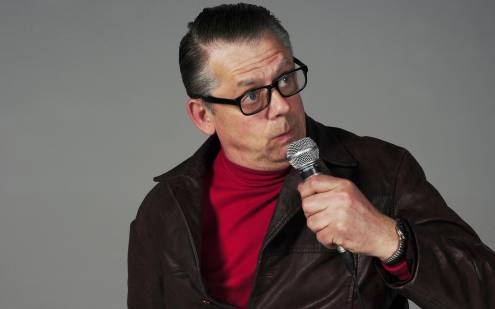 John Shuttleworth's back is giving him gyp.