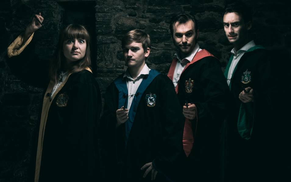 Spontaneous Potter's gang of wizards.