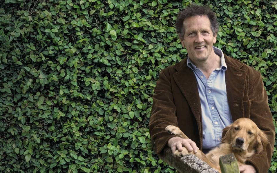 Monty Don with his dog