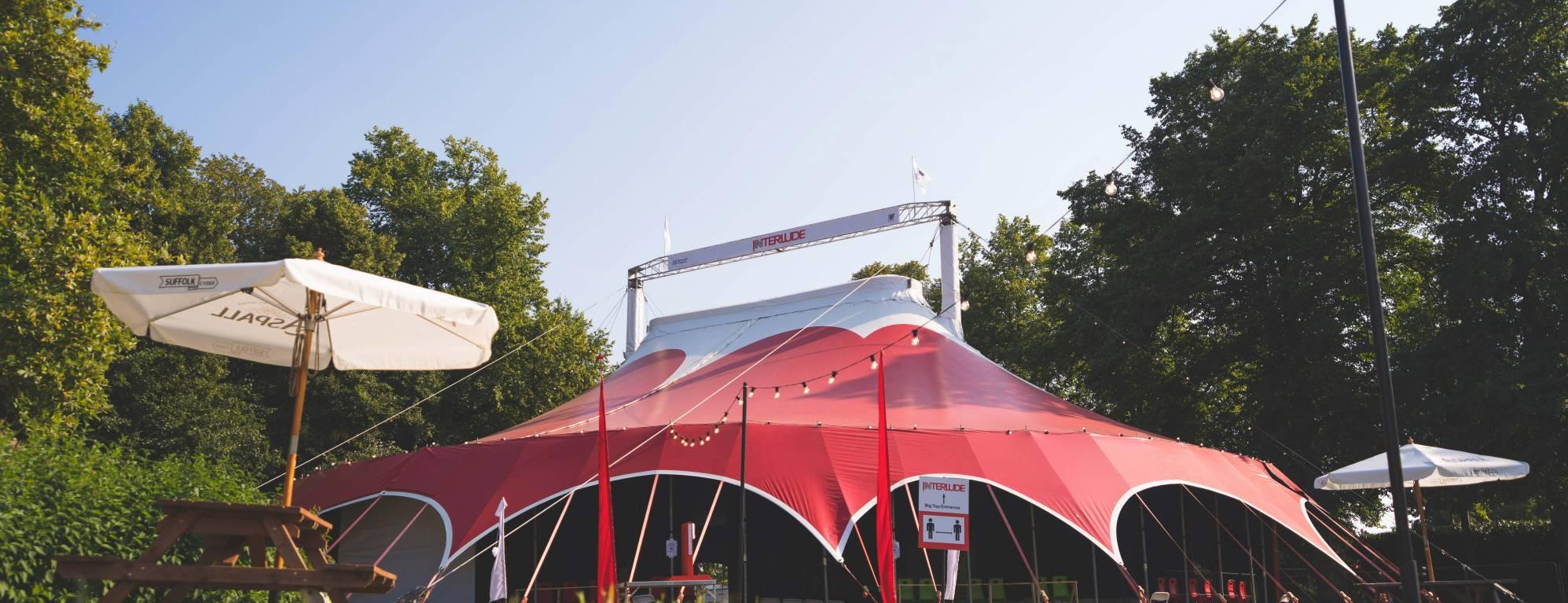 INTERLUDE Tent at Chapelfield Gardens