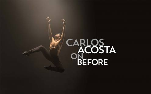 Carlos Acosta On Before Photo Credit: Johan Persson